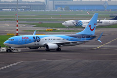 PH-TFC, Amsterdam Schiphol, October 19th 2015 (Southsea_Matt) Tags: phtfc boeing 7378k5 tui arke october 2015 autumn schiphol ams eham amsterdam holland thenetherlands canon 60d aircraft plane aviation airport transport