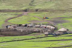 Maasai kraal (tmeallen) Tags: maasai tribalpeople herders pastoral seminomadic kraal bomas beadednecklaces souvenirs grazinglands ngorongorocrater ngorngoroconservationarea traditionalvillage tanzania eastafrica