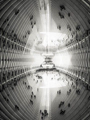 Double Oculus (ejjiv) Tags: doubleexposure oculus worldtradecenter newyorkcity