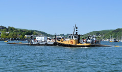 Dartmouth Lower Ferry (R~P~M) Tags: boat ferry dartmouth tug kingswear devon england uk unitedkingdom greatbritain dart