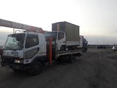 Mitsubishi Fuso Fighter (m.shapenkov) Tags: mitsubishi fuso wrecker truck transport