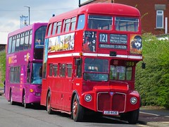 London Transport RML2443 (JJD443D) - 22-04-18 (02) (peter_b2008) Tags: aec routemaster parkroyal londontransport rml2443 jjd443d preserved vintage buses coaches transport buspictures