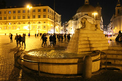 Fontana (Flint Foto Factory) Tags: rome roma italy italia urban city autumn fall november novembre 2017 vacation piazza delpopolo beautiful fountain fontana historic