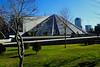 Pyramide de Tirana (8pl) Tags: pyramide tirana monument albanie gazon gens passants arbres centreville