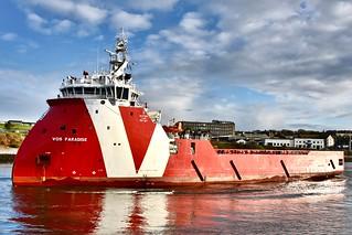 VOS Paradise - Aberdeen Harbour Scotland - 27/4/2018