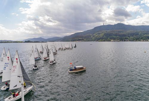 Segelstaatsmeisterschaft in der Surprise Klasse im Union-Yachtclub Wörthersee in Dellach am Wörthersee