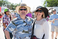 Festers at the New Orleans Jazz and Heritage Festival on Sunday, April 29, 2018