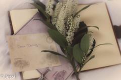dear darling... (Felicis_Flower) Tags: letter brief stillleben stilllife blumen flower buch book