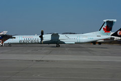 C-GSJZ (JAZZ) (Steelhead 2010) Tags: aircanada aircanadaexpress jazz bombardier dhc8 dhc8q400 yhm creg cgsjz