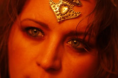 Self ortrait Boho Chic Tribal Fusion (blackunigryphon) Tags: boho chic bohochic bohemian gypset gypsetter makeup tribalfusion tribalsilver selfportrait