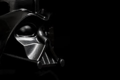 May the Fourth be with you! (Marc McDermott) Tags: darth vader star wars lego macro low key