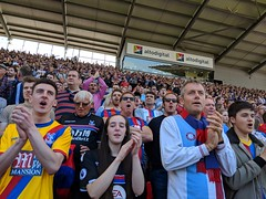 Stoke v Crystal Palace, 5/3/18 (40% fnord) Tags: cpfc crystalpalace cameraphone stoke football