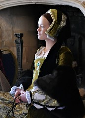 Henry VIII & His Six Wives, Katherine Howard (jacquemart) Tags: berkleycastle gloucestershire historic castle reenactment tudor court renaissance english henryviiihissixwives katherinehoward