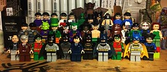 100% Completion (Lord Allo) Tags: lego batman dc 2006 2007 2008 alfred pennyworth commissioner gordon robin bruce wayne batgirl nightwing arkham asylum guards killer moth harley quinn mad hatter joker scarecrow ras al ghul hush clayface riddler twoface mister freeze poison ivy henchmen goons croc penguin catwoman bane manbat