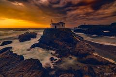 Virxen do Porto (Fernando Guerra Velasco) Tags: puestadesol sunset paisaje acoruña virxendoporto