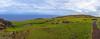 At the top of Rano Kau / На вершине Рано Кау (Vladimir Zhdanov) Tags: travel chile polynesia rapanui easterisland stone rock grass ranokau orongo landscape ancient ocean water sky cloud