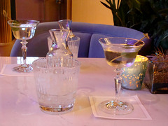 A Drink with Howard Hughes (knightbefore_99) Tags: hotel westin bayshore vancouver bc coalharbour great cool martini drink howard hughes glass olive mogul crytal vodka gin
