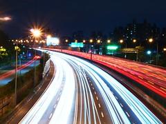 中山高速公路 (msn12680) Tags: freeway light