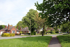 Upton. (boneytongue) Tags: upton chester england private housing estate leafy suburb cheshire