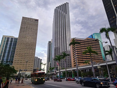 Another cloudy day in May. (Aglez the city guy ☺) Tags: may downtownmiami cars transportation urban outdoors cityscapes palmtrees streetscape walking walkingaround cloudy clouds city building exploration architecture afternoon miamifl miamicity