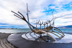 Sólfar - Sun Voyager (LEG work) Tags: sculpture ship viking metal
