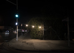 los angeles, 2017 (sergio tranquilli) Tags: los angeles losangeles california landscape night emptiness emptyspace silence nothing santamonicaboulevard
