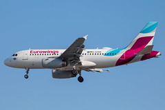 Eurowings - Airbus A319-132 D-AGWB @ London Heathrow (Shaun Grist) Tags: dagwb eurowings airbus a319 shaungrist lhr egll london londonheathrow heathrow airport aircraft aviation aeroplanes airline avgeek landing 27r