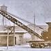 Type F Brown Hoisting Machinery Co. locomotive crane with 40 ft. boom. 1918 NARA165-WW-546A-137