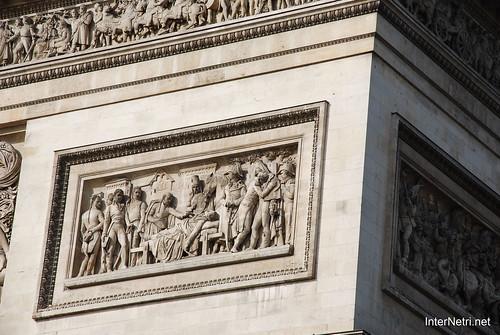 Париж Тріумфальна арка InterNetri  France
