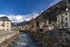 Poschiavo - Svizzera - Alpi retiche (M-Gianca) Tags: montagna mountain city sony a6500 zeiss neve svizzera alpi fiume river acqua water