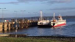 Shannon Dolphin Ferry, Shannon River, Kilimer, Ireland (David McKelvey) Tags: 2018 europe ireland county clare shannon river kilimertarbert dolphin ferry water