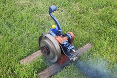Newfane 066 (8) (swi66) Tags: dunkirk hit miss motors diesel cannons farm tractor john deere antique historical