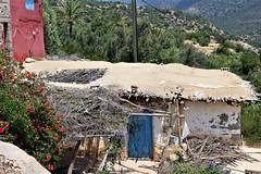 Habitation Vallée du paradis. (Sush DG) Tags: house maison habitation maroc imouzère valley vallée paradis paradise morocco village villa nature
