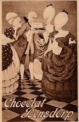de stad Amsterdam 1923   adv Bensdorp (janwillemsen) Tags: advertising amsterdam 1923 magazineillustration