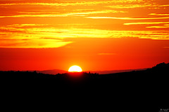 Half Sun (LeWelsch Photo) Tags: half sun silhouette sunset sunrise orange bright burning sky burningsky clouds cloudporn belpberg chutzen berneseoberland bern switzerland a6000 sel55210 lewelsch lewelschphoto