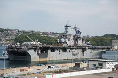 USS Wasp Returns to Sasebo (SurfaceWarriors) Tags: ctf76 f35b japan lhd1 sasebo usswasp waspesg