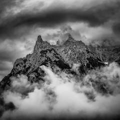 Karwendal (Frodingham Photographer) Tags: mittenwald germany blackwhite karwendal holiday2016 alps