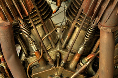 Two Cylinders (arbyreed) Tags: arbyreed machine hdr close closeup indian indianmotorcycle 1913indianmotorcycle engine 7hp1000ccmotorcycleengine metal motorcycleenginedetail utahcountyutah springvilleutah legendsmotorcycleemporium copper brass legends sidecarcafe motorcycles vintagemotorcycles indianmotorcycles