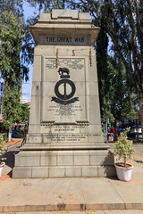 Memorial (bobbyloomba) Tags: india statue madraspioneers madras greatwar bangalore