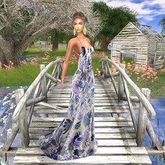 LuceMia - JUMO For Swank Event (MISS V♛ ITALY 2015 ♛ 4th runner up MVW 2015) Tags: jumo swankevent secondlife sl new mesh fashion gown beauty blog hair maya photo event exclusive spring flowers hud textures colors models lucemia