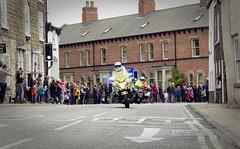 Police and marshall (barronr) Tags: england knaresborough rkabworks tourdeyorkshire yorkshire bathgatephotographer cycling motorbike police race support
