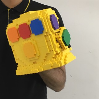 Up-Scaled Infinity Gauntlet