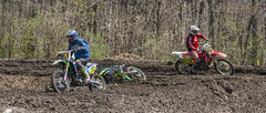 Down In A Muddy Turn (John Kocijanski) Tags: motocross motorcycle dirtbike vehicles sport race people canon70300mmllens canon7d