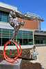 The Gymnast (Atelier Teee) Tags: terencefaircloth atelierteee sculpture gymnast chicago illinois chrome