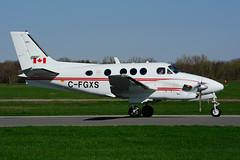 C-FGXS (Transport Canada) (Steelhead 2010) Tags: transportcanada beechcraft c90 kingair yhm creg cfgxs
