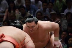 pressure (t14zucca) Tags: pentax k3 55300mm plm japan tokyo sumo 相撲 yokozuna 白鵬 横綱