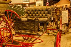 NC State Fair 2018 (82) (tommaync) Tags: ncstatefair2017 nc northcarolina statefair 2017 october nikon d40 raleigh antiques equipment old seats wheels wagon