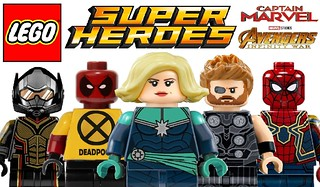 More Amazing Lego Superheroes Custom Minifigures !!!ail