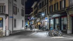 Rue de la Tour, Lausanne (axel274) Tags: canon g5x lausanne nacht night nuit powershot schweiz suisse switzerland vaud