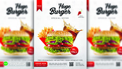 Burger Restaurant Flyer (waqutiar) Tags: flyer